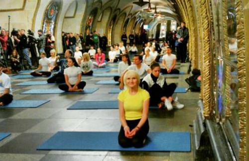 Йога лучшее для живота